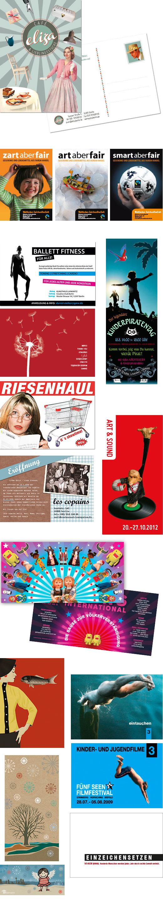 Postkarten/flyer